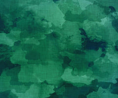 Canvas Emerald Watercolor Abstract
