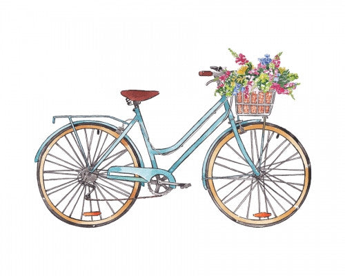 Canvas Vintage Bicycle - Galeria Impresionarte