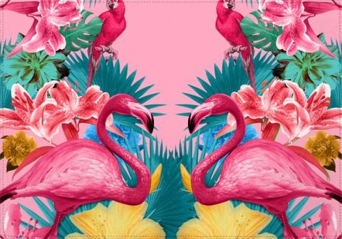 Individuales Flamingo and Tropical Garden - Galeria Impresionarte