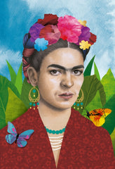 Canvas Frida Pop