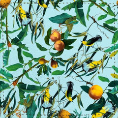 Posavasos Fruit and Birds Pattern - Galeria Impresionarte