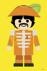 Canvas George Harrison 02 Toy