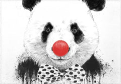 Individuales Clown Panda
