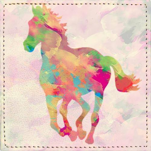 Posavasos Abstract Horse - Galeria Impresionarte