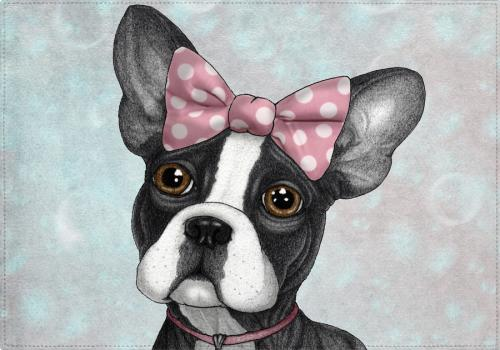 Individuales Sweet Frenchie - Galeria Impresionarte