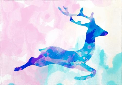 Individuales Abstract Deer X - Galeria Impresionarte