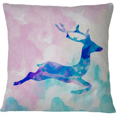 Cojin Abstract Deer X - Galeria Impresionarte