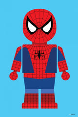 Canvas Spider Man Toy