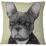 Cojin Hard Rock French Bulldog - Galeria Impresionarte