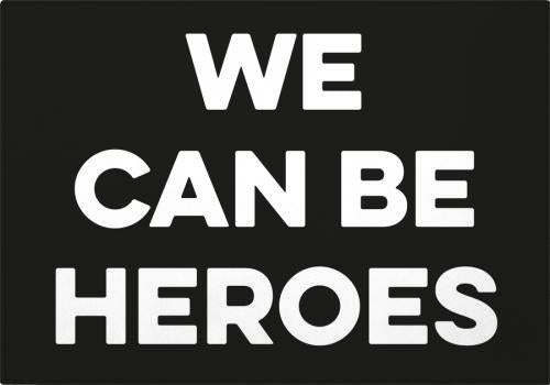 Individual Good Music David Bowie We can be heroes