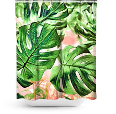Cortina de Baño Monstera Beauty