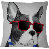 Cojin Frenchie Summer Style - Galeria Impresionarte