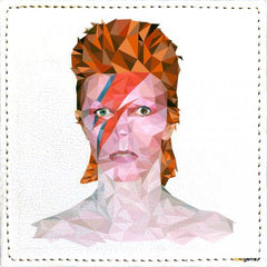 Posavasos David Bowie Low Poly
