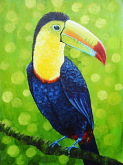 Canvas Fancy Toucan