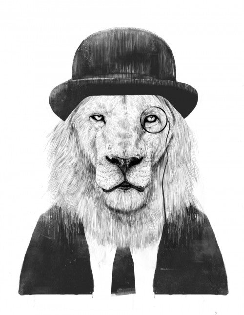 Canvas Sir Lion - Galeria Impresionarte