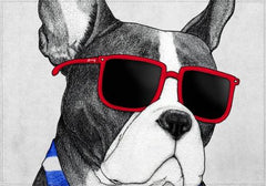 Individuales Frenchie Summer Style - Galeria Impresionarte
