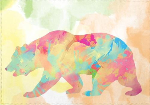 Individuales Abstract Bear - Galeria Impresionarte