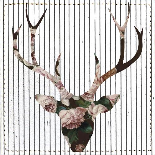 Posavasos Deer in Bloom