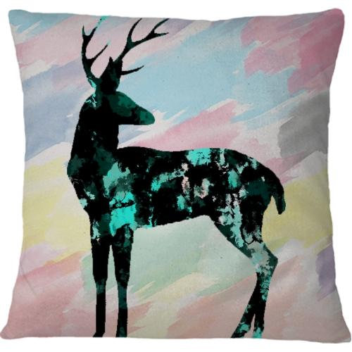 Cojin Abstract Deer - Galeria Impresionarte