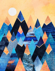 Blue Mountains - Galeria Impresionarte
