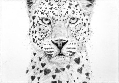 Individuales Lovely Leopard - Galeria Impresionarte