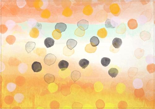 Individuales Watercolor Dots II