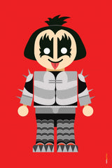 Canvas Gene Simmons Toy