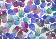 Individuales Watercolor Botanical Garden II