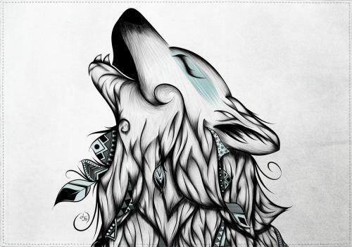 Individuales The Wolf - Galeria Impresionarte
