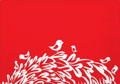 Individuales Red Birds - Galeria Impresionarte