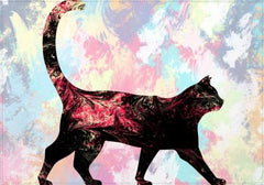 Individuales Abstract Cat - Galeria Impresionarte