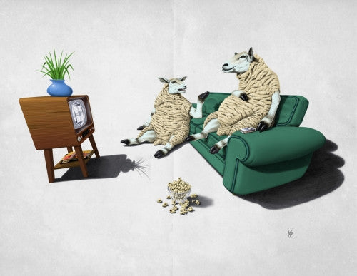 Sheep (Wordless) - Galeria Impresionarte