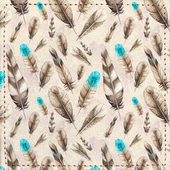 Posavasos Feather Pattern - Galeria Impresionarte