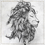Posavasos Poetic Lion