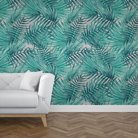 Papel Mural Palm Pattern 07