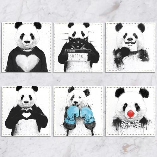 Posavasos Panda Collection - Galeria Impresionarte
