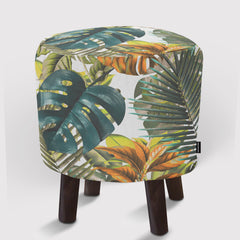 Pouf Tropical Pattern
