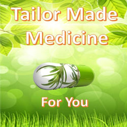 tailor made medication pills with ingredients