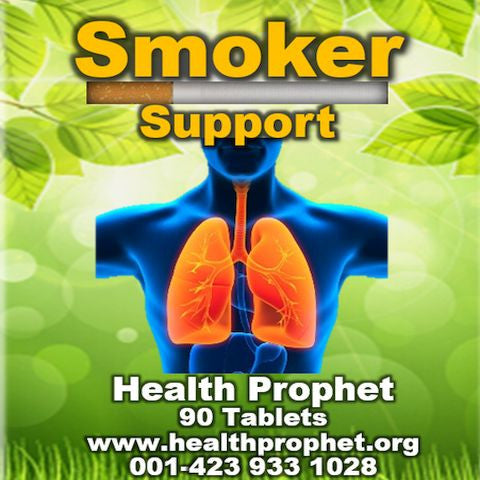 smoker support man with orange lungs