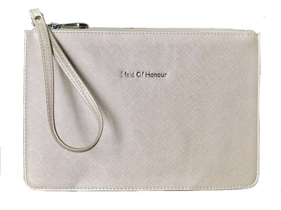 MAID OF HONOUR CLUTCH - PEARL