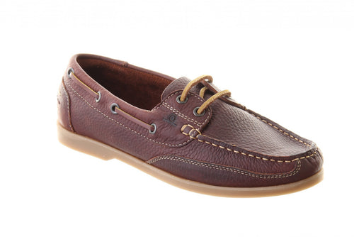 Julie Boat Shoe Brown