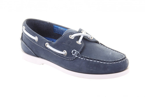 Pacific Lady G2 Boat Shoe Navy