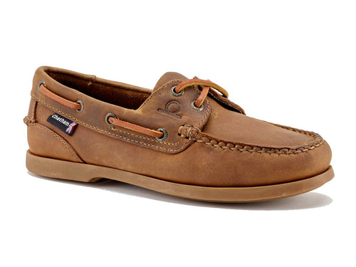 The Deck Lady ll G2 Boat Shoe Walnut