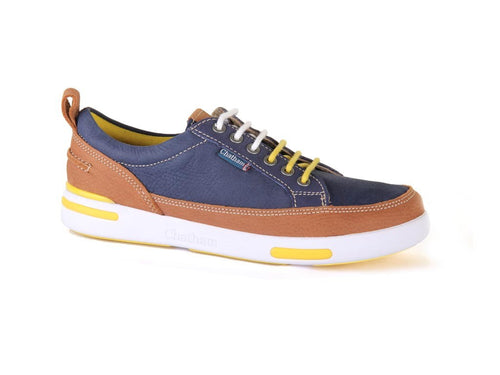 Step Deck Shoe Trainers Blue