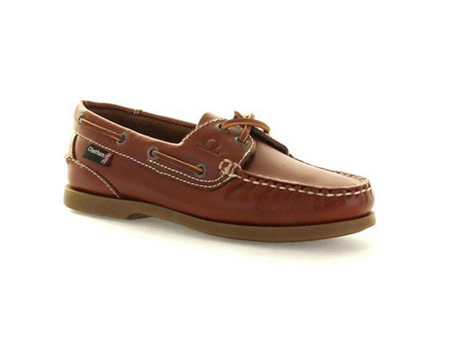The Deck Lady ll G2 Boat Shoe Chestnut