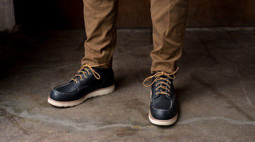 The Red Wing 8859 Moc Toe - Now in Navy