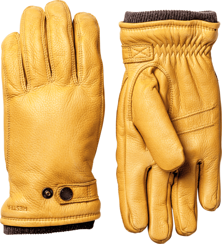 Hestra Utsjo Glove - Natural Yellow