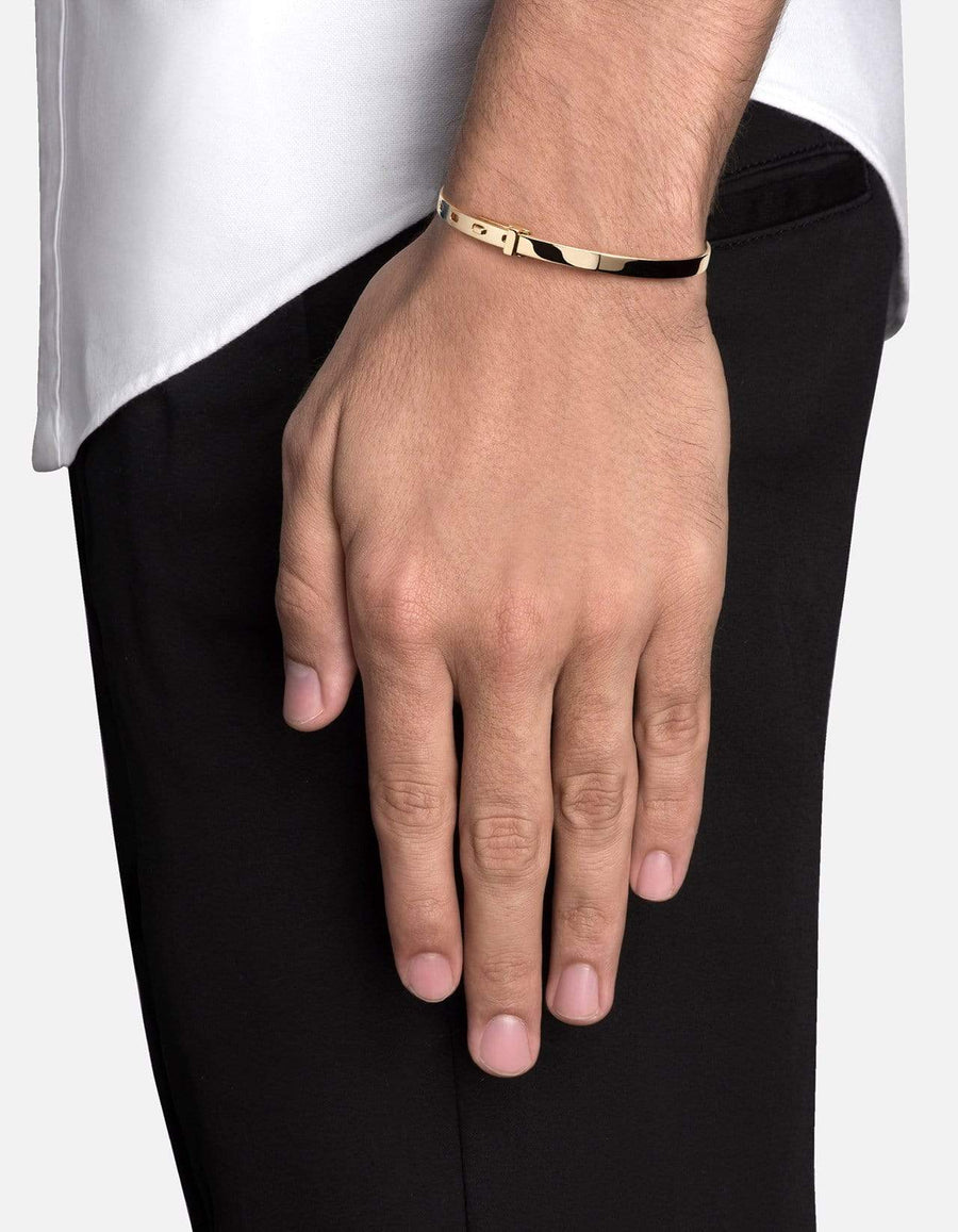 Miansai Tailor Cuff - Gold Vermeil - Polished