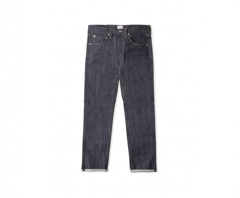 Edwin ED-55 Red Listed Selvage Denim Jeans - Blue Unwashed