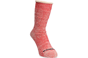 Anonymous-Ism Go Hemp Socks - Red